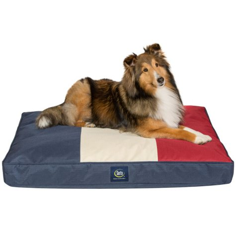 "Serta Indoor/Outdoor Blended Memory Foam Pet Bed, 36"" x 27"" (Choose Your Color)"