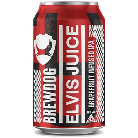 Brewdog Elvis Juice IPA (12 fl. oz. can, 6 pk.)
