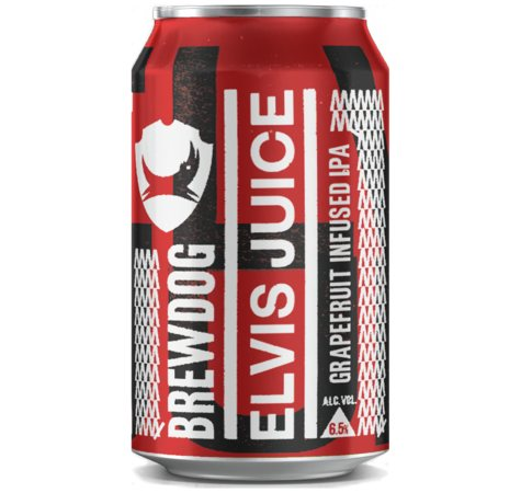 Brewdog Elvis Juice IPA (12 fl. oz. can, 6 pk.)
