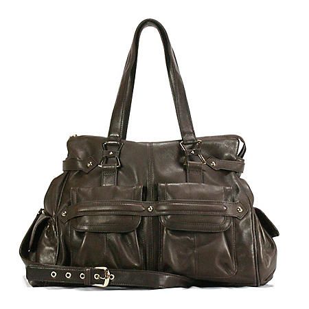 Junior Drake Megan Handbag - Brown