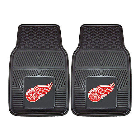 NHL - Detroit Red Wings 2-pc Vinyl Car Mat Set