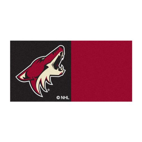 NHL - Arizona Coyotes Team Carpet Tiles