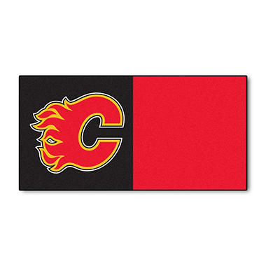 NHL - Calgary Flames Team Carpet Tiles