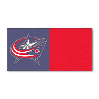 NHL - Columbus Blue Jackets Team Carpet Tiles