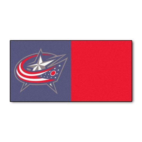 NHL - Columbus Blue Jackets Team Carpet Tiles