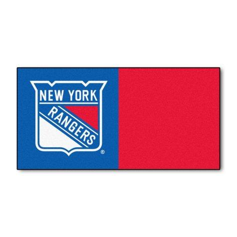 NHL - New York Rangers Team Carpet Tiles