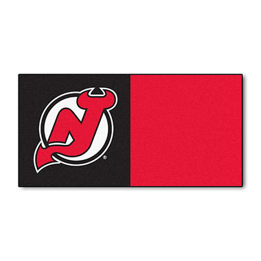 NHL - New Jersey Devils Team Carpet Tiles