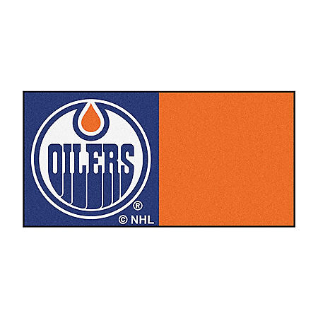 NHL - Edmonton Oilers Team Carpet Tiles