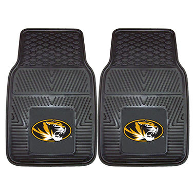 NCAA - University of Missouri 2-pc Vinyl Car Mat Set
