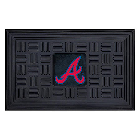 MLB Atlanta Braves Medallion Doormat