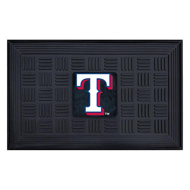 MLB Texas Rangers Medallion Doormat