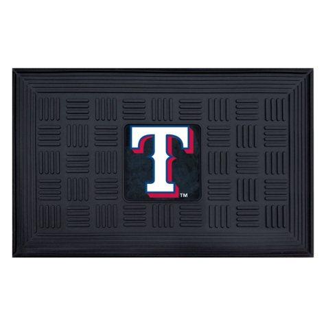 MLB Texas Rangers Medallion Doormat