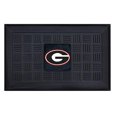 NCAA - University of Georgia Medallion Door Mat