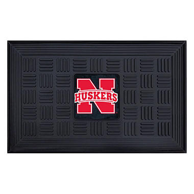 NCAA - University of Nebraska Medallion Door Mat
