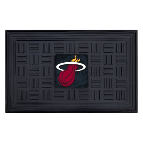 NBA Miami Heat Medallion Doormat