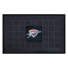 NBA Oklahoma City Thunder Medallion Doormat