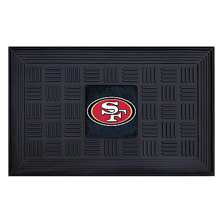 NFL - San Francisco 49ers Medallion Door Mat