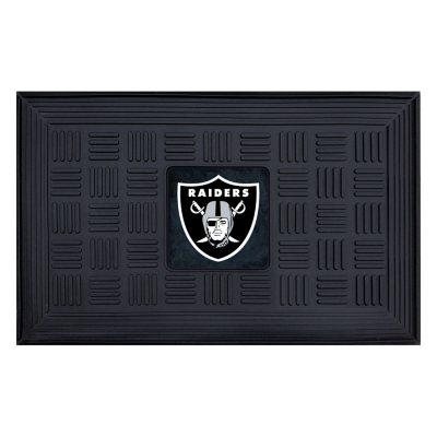 NFL   Oakland Raiders Medallion Door Mat