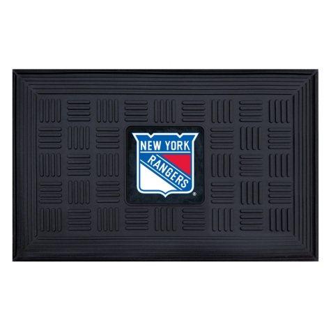 NHL New York Rangers Medallion Doormat
