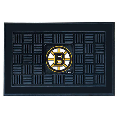 NHL Boston Bruins Medallion Doormat
