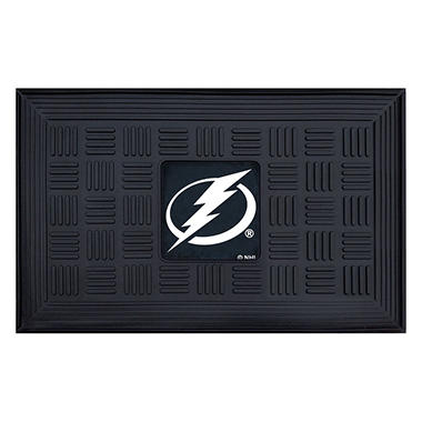 NHL Tampa Bay Lightning Medallion Doormat