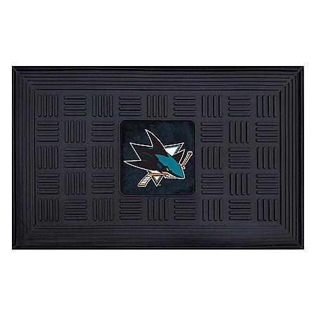 NHL San Jose Sharks Medallion Doormat