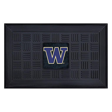 NCAA University of Washington Medallion Doormat