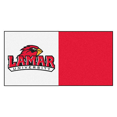NCAA - Lamar University Team Carpet Tiles