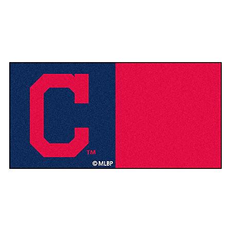 MLB - Cleveland Indians Team Carpet Tiles