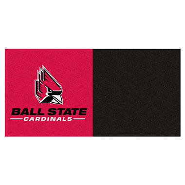 NCAA - Ball State University Team Carpet Tiles
