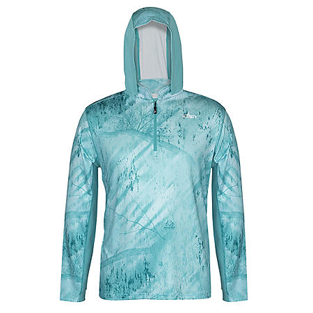 Habit Men's Real Tree Hooded Fishing Layer