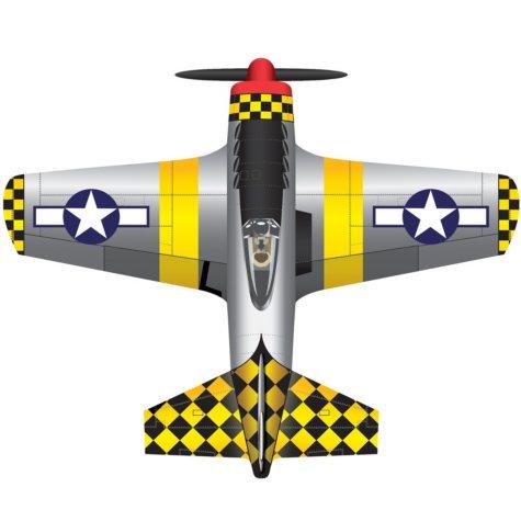 X Kites P-51 Deluxe Nylon Kite