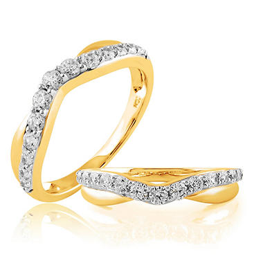 .50 ct. t.w. Diamond Yellow Gold Ladies' Ring (H-I, I1)