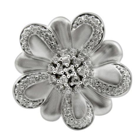 .25 ct. t.w. Diamond Flower Ring (H-I, I1)