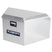 "Lund 16"" Aluminum Trailer Tongue Diamond Plated Truck Box - Silver"