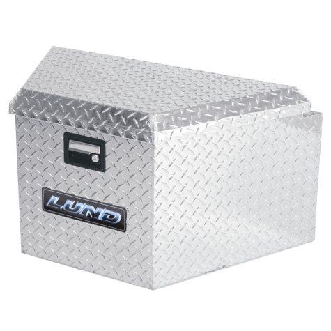 "Lund 16"" Aluminum Trailer Tongue Diamond Plated Truck Box - Silver"