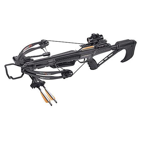 CenterPoint Volt 300 Compound Crossbow Bundle, Low Weight Draw