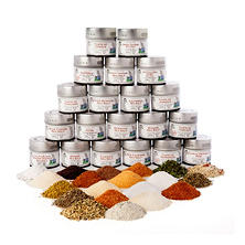 Gustus Vitae Ultimate Gourmet Salt and Artisan Spice Blend Collection