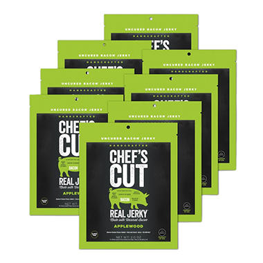 Chef's Cut Real Bacon Jerky, Applewood Smoked (8 pk.)