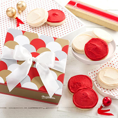 Mrs. Fields Happy Holiday Circle Gift Box