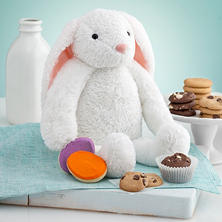 Mrs. Fields Plush Bunny with Cookies