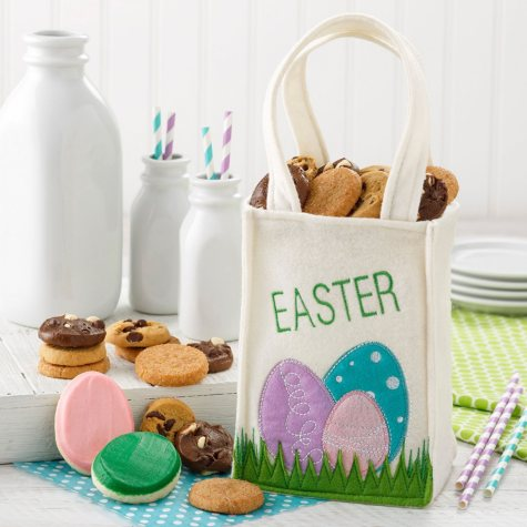 """Mrs. Fields """"Egg""""Cited About Easter Tote"""