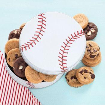 Mrs. Fields Play Ball Cookie Tin