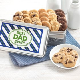 Mrs. Fields Happy Father's Day Nibblers Tin (24 ct. )