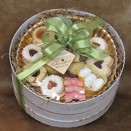 White Hat Box of Cookies