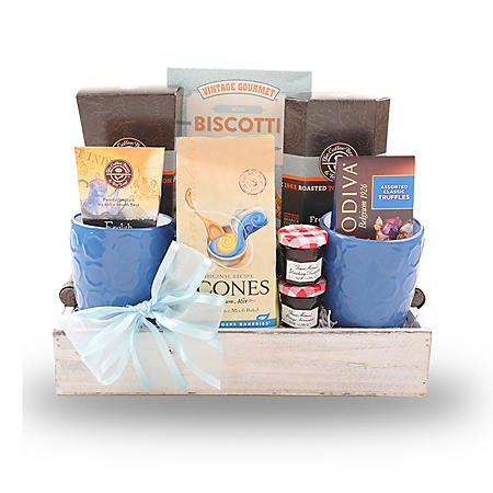 Scones, Coffee, and Tea Gift Tray