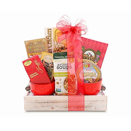 Soups On Gift Tray