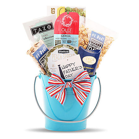 Salty Summer Snacks Gift Pail