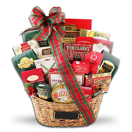 Ultimate Wicker Gift Basket
