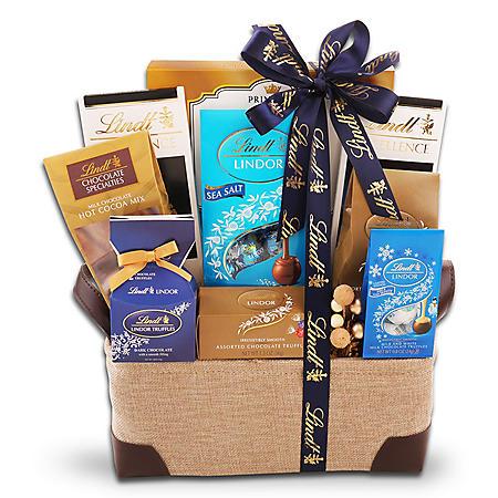 Lindt Signature Chocolate Gift Basket